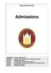 Admissions Policy_Sept2020 FINAL