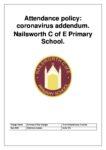 Attendance Policy - Covid-19 Addendum