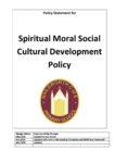 Spiritual Moral Social Cultural Development Policy Sept 2020 FINAL