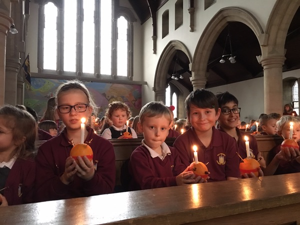Candles for Christingle