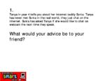 Year 3 advice