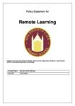 Remote Learning Policy Oct 2020 FINAL